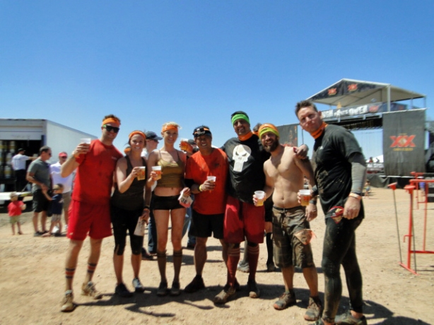 "Team ""How I met your Mudder"""